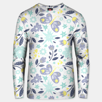 Thumbnail image of flowers Cotton sweater, Live Heroes