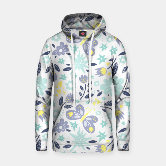 Thumbnail image of flowers Cotton hoodie, Live Heroes