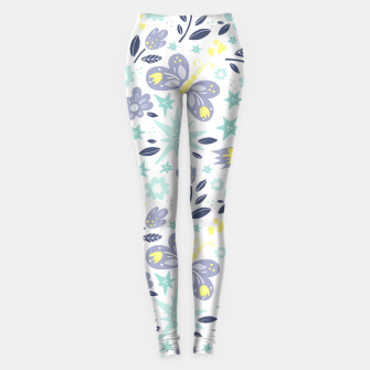 Thumbnail image of flowers Leggings, Live Heroes