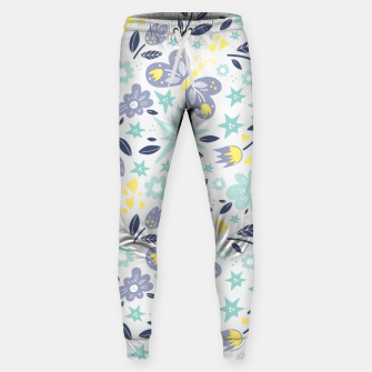 Thumbnail image of flowers Cotton sweatpants, Live Heroes