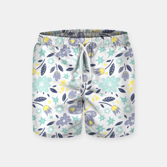 Thumbnail image of flowers Swim Shorts, Live Heroes