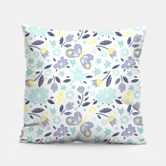 Thumbnail image of flowers Pillow, Live Heroes