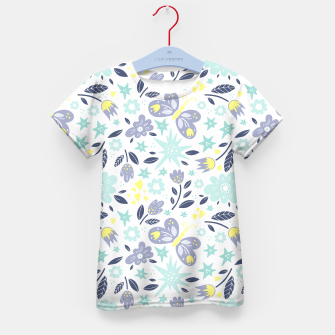 Thumbnail image of flowers Kid's t-shirt, Live Heroes