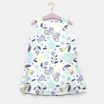 Thumbnail image of flowers Girl's summer dress, Live Heroes