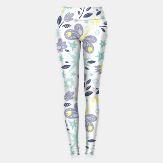 Miniatur flowers Leggings, Live Heroes