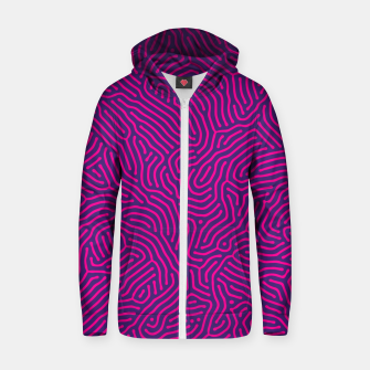 Miniature de image de Abstract Pattern Cotton zip up hoodie, Live Heroes