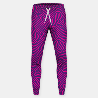 Miniature de image de Abstract Pattern Cotton sweatpants, Live Heroes