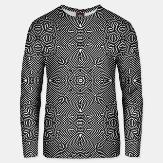 Miniature de image de Abstract Pattern Cotton sweater, Live Heroes