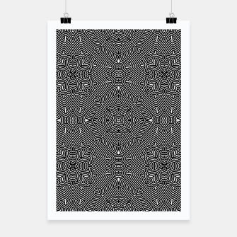 Miniature de image de Abstract Pattern Poster, Live Heroes