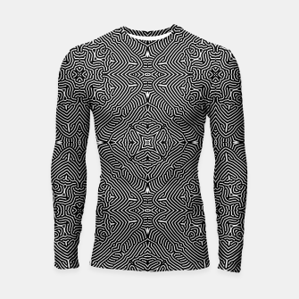 Thumbnail image of Abstract Pattern Longsleeve rashguard , Live Heroes