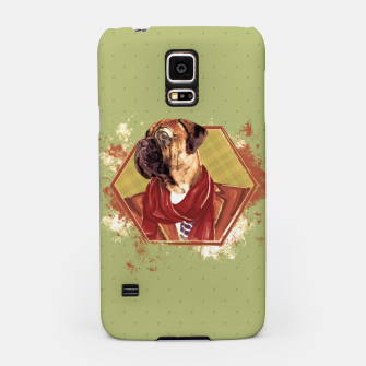 Thumbnail image of Hipster Bullmastiff Samsung Case, Live Heroes