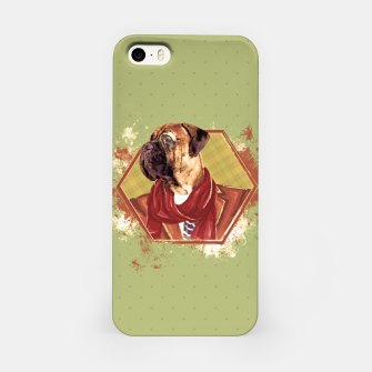 Thumbnail image of Hipster Bullmastiff iPhone Case, Live Heroes