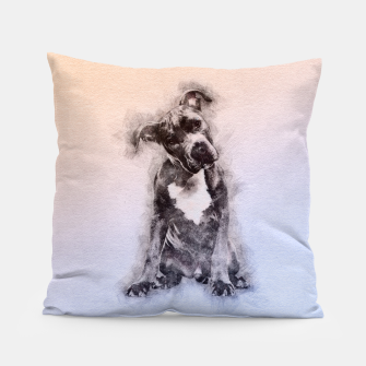 Thumbnail image of American Staffordshire Terrier - Amstaff Puppy Pillow, Live Heroes