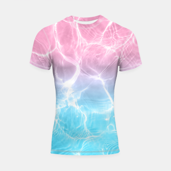 Miniatur Pool Dream #3 #water #decor #art Shortsleeve rashguard, Live Heroes