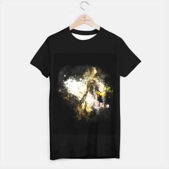Imagen en miniatura de gxp swan in action splatter watercolor T-shirt regular, Live Heroes
