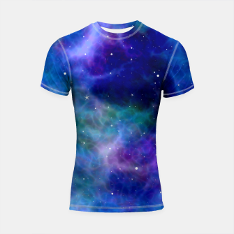 Miniatur Starry Night Skies - 01 Shortsleeve rashguard, Live Heroes