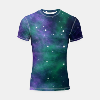 Miniatur Starry Night Skies - 05 Shortsleeve rashguard, Live Heroes