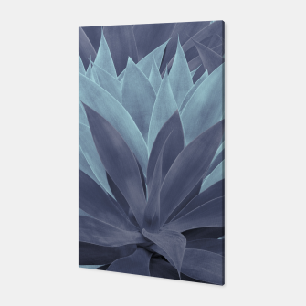Thumbnail image of Agave Ocean Dream #5 #tropical #decor #art Canvas, Live Heroes