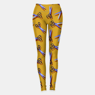 Miniatur Scissors in Orange Leggings, Live Heroes