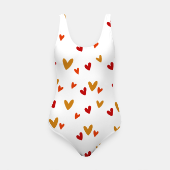 Thumbnail image of Heart pattern Swimsuit, Live Heroes