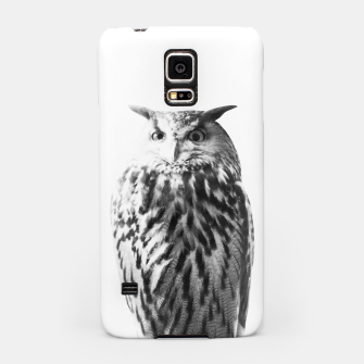 Thumbnail image of Owl on White #1 #animal #decor #art Handyhülle für Samsung, Live Heroes