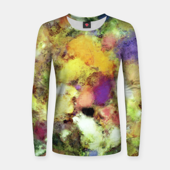 Thumbnail image of Forgotten petals Woman cotton sweater, Live Heroes
