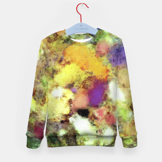 Thumbnail image of Forgotten petals Kid's sweater, Live Heroes