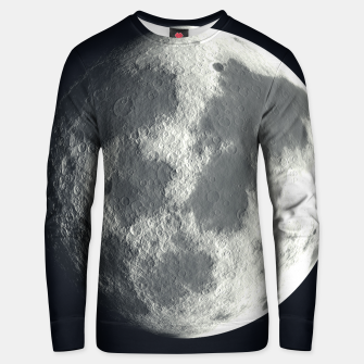 Thumbnail image of Universe Galaxy Planet The Moon Cotton sweater, Live Heroes