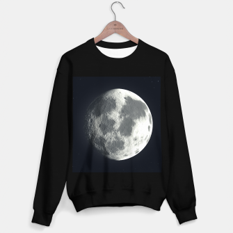 Miniatur Universe Galaxy Planet The Moon Sweater regular, Live Heroes