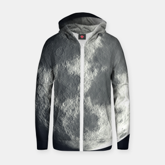 Thumbnail image of Universe Galaxy Planet The Moon Cotton zip up hoodie, Live Heroes
