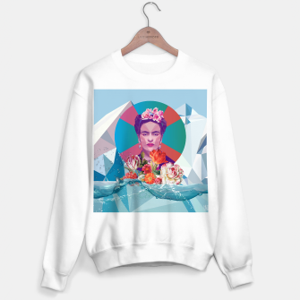 Thumbnail image of Cool Frida Kahlo Sweater regular, Live Heroes