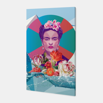 Thumbnail image of Cool Frida Kahlo Canvas, Live Heroes