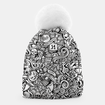 Thumbnail image of halloween doodle Beanie, Live Heroes