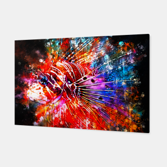 Thumbnail image of gxp lionfish splatter watercolor Canvas, Live Heroes