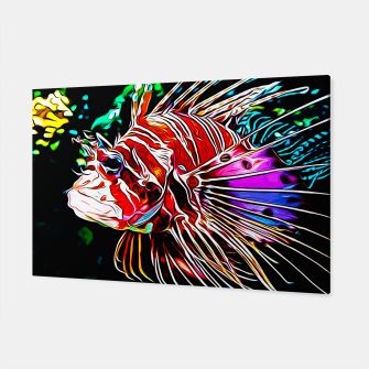 Thumbnail image of gxp lionfish vector art Canvas, Live Heroes