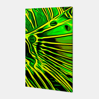 Thumbnail image of gxp lionfish vector art green Canvas, Live Heroes