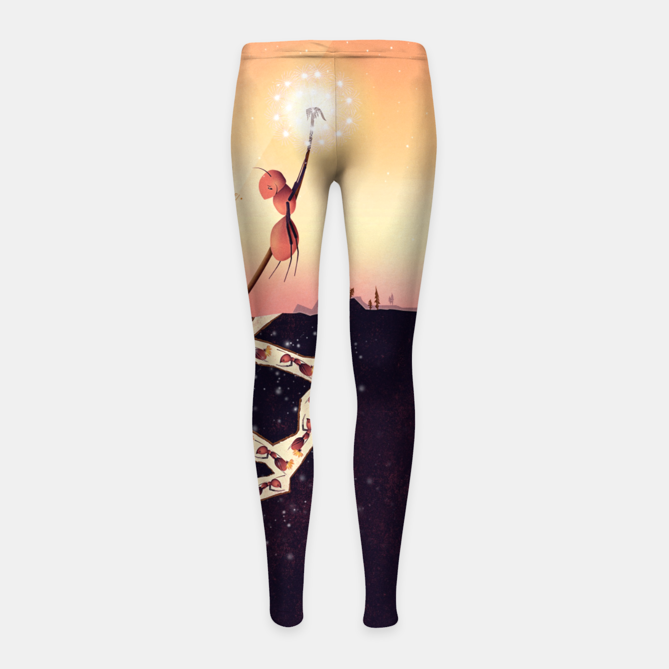 Image of Less is More Kinder-Leggins - Live Heroes