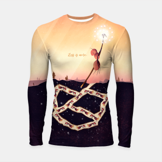 Less is More Longsleeve rashguard Bild der Miniatur