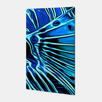 Thumbnail image of gxp lionfish vector art blue Canvas, Live Heroes