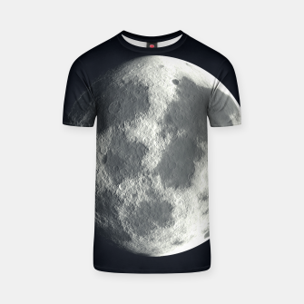 Thumbnail image of Universe Galaxy Planet The Moon T-shirt, Live Heroes