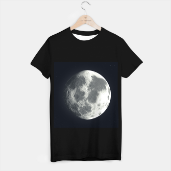 Imagen en miniatura de Universe Galaxy Planet The Moon T-shirt regular, Live Heroes