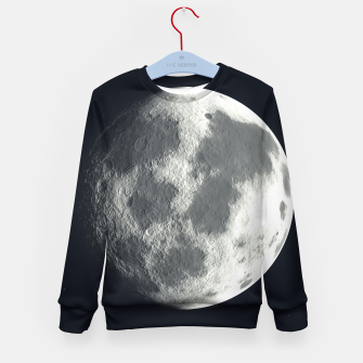 Thumbnail image of Universe Galaxy Planet The Moon Kid's sweater, Live Heroes