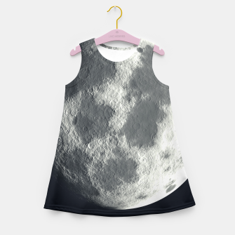 Thumbnail image of Universe Galaxy Planet The Moon Girl's summer dress, Live Heroes