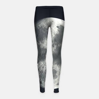 Thumbnail image of Universe Galaxy Planet The Moon Girl's leggings, Live Heroes