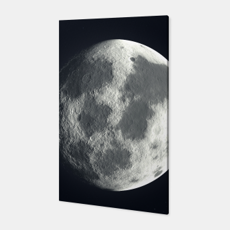 Thumbnail image of Universe Galaxy Planet The Moon Canvas, Live Heroes