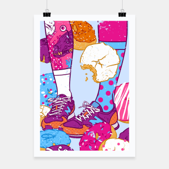 Thumbnail image of Don't step over donuts Poster, Live Heroes
