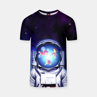 Thumbnail image of Cosmic Fishbowl T-Shirt, Live Heroes