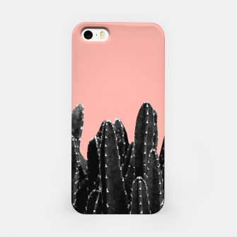 Thumbnail image of Black Cacti Dream #2 #minimal #decor #art iPhone-Hülle, Live Heroes