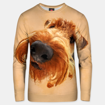 Thumbnail image of Funny  Airedale Terrier Cotton sweater, Live Heroes