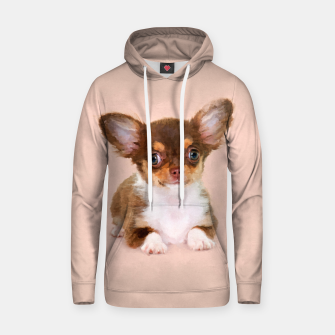 Thumbnail image of Chihuahua Puppy Cotton hoodie, Live Heroes
